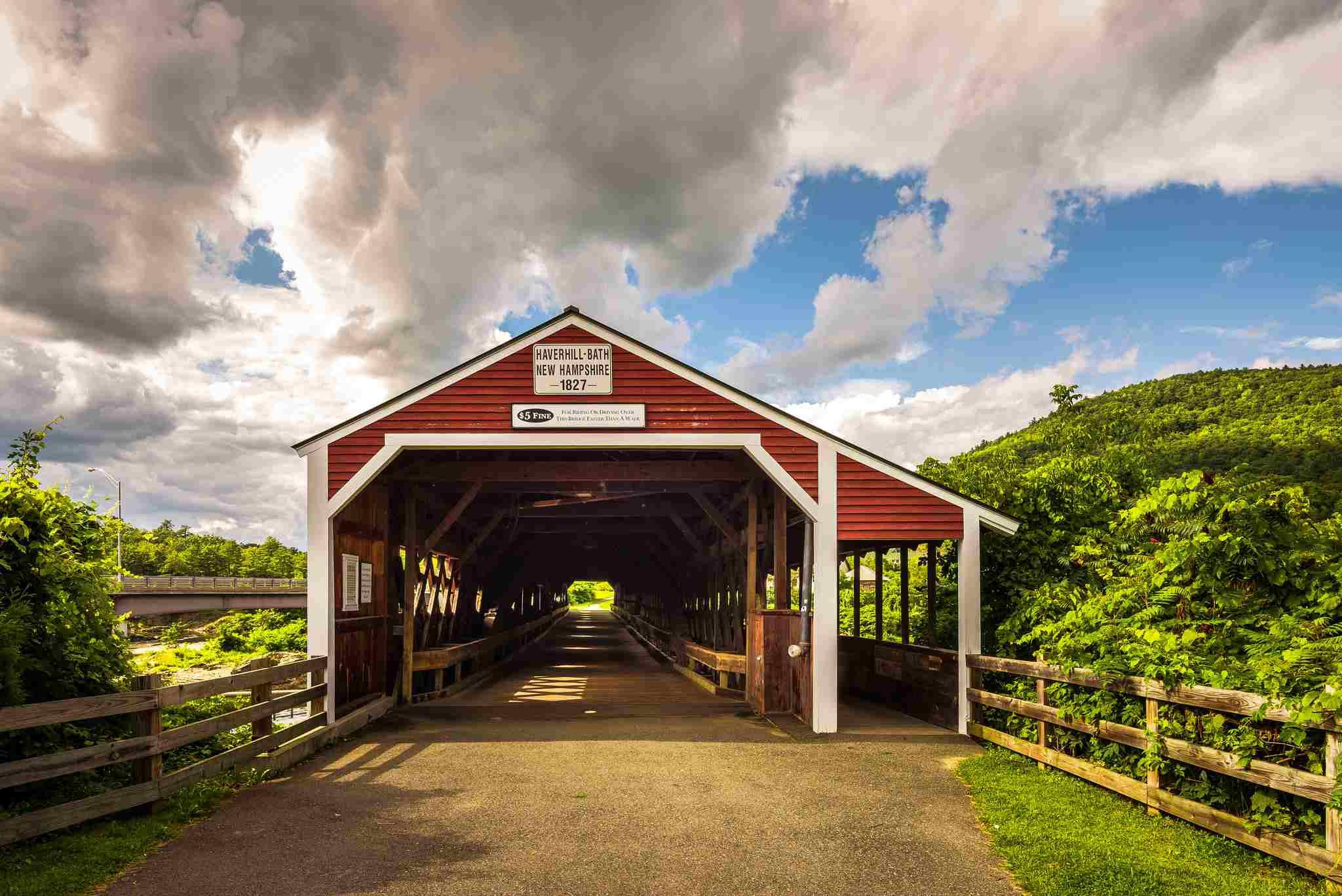 Haverhill-Bath Covered Bridge Oldest in New Hampshire