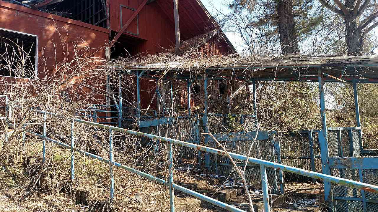 Abandoned Dogpatch USA park