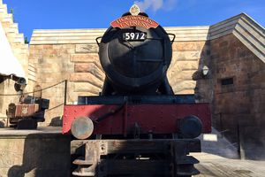 The Hogwarts Express at the wizarding world of Harry Potter, Universal studios