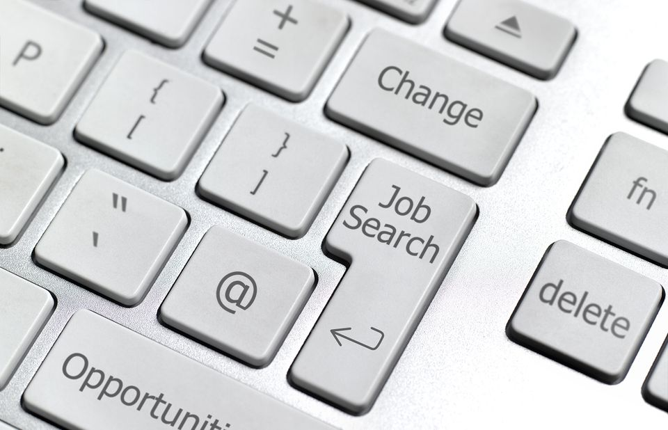 job search button on keyboard