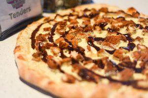 Boardwalk Style BBQ Chicken Pizza
