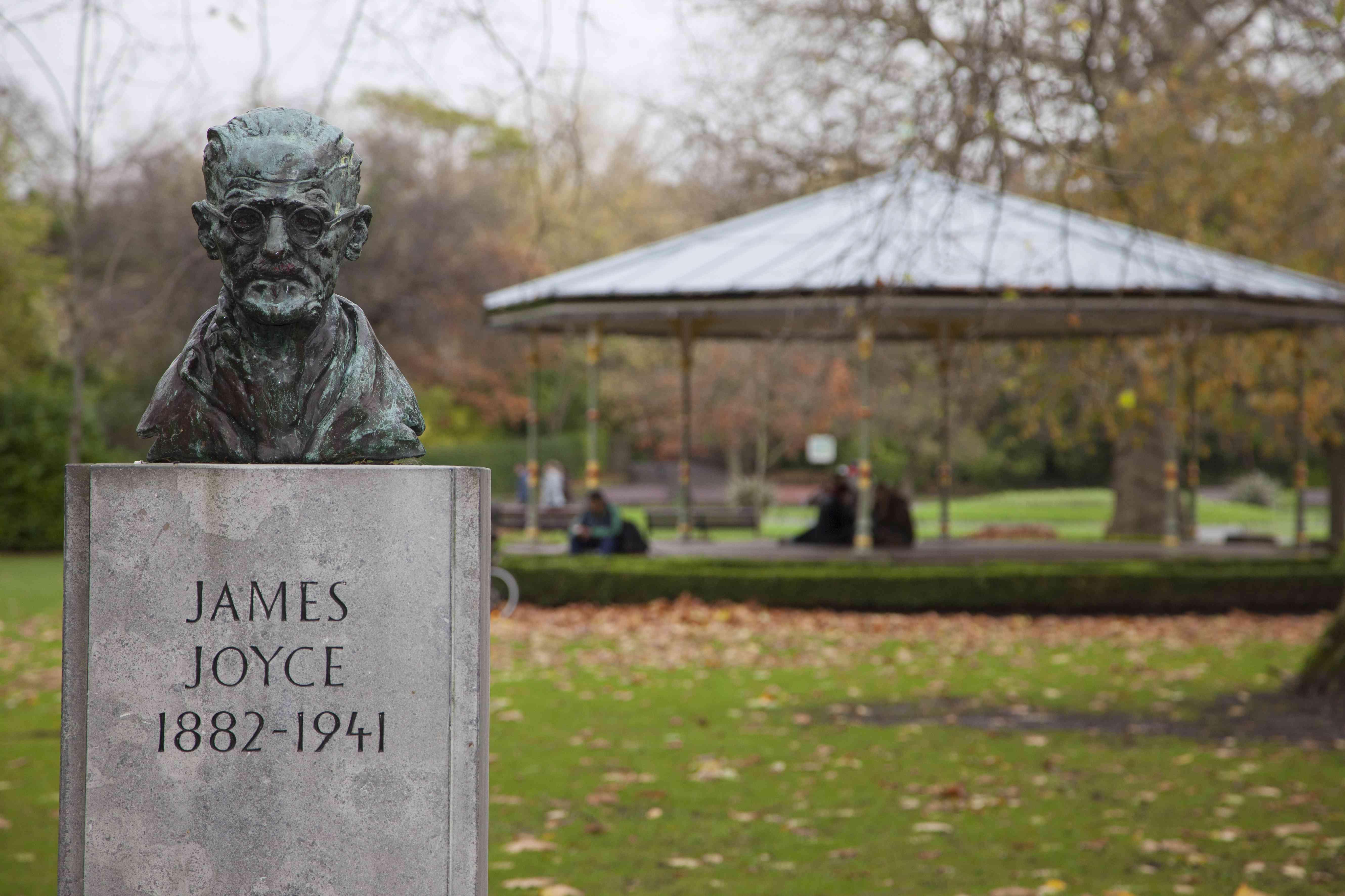 James Joyce Bust in Dublin