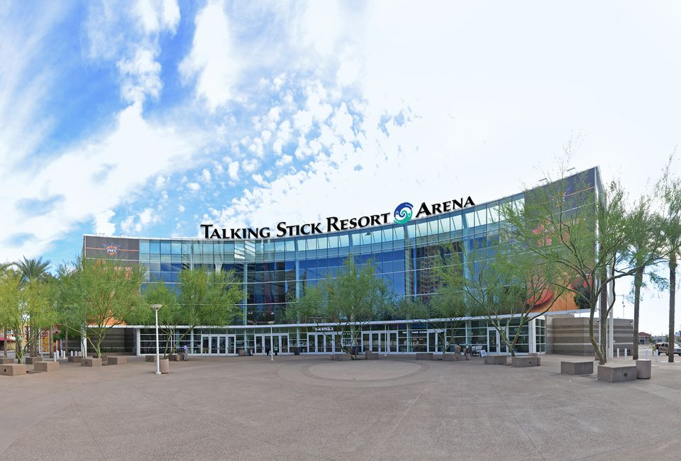 Talking Stick Resort Arena Formerly US Airways Center - Pavilions at talking stick car show
