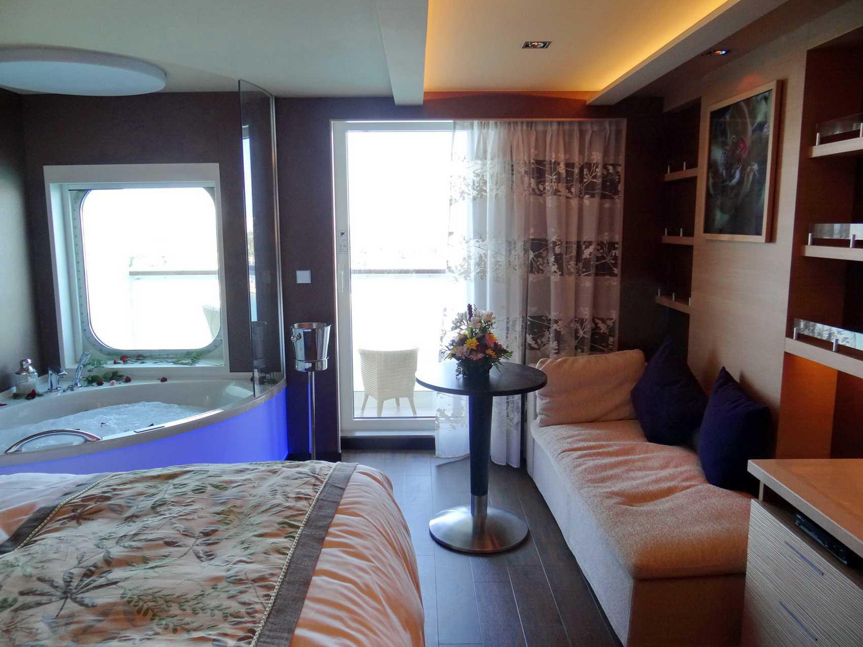 The Haven Spa Suite on the Norwegian Getaway