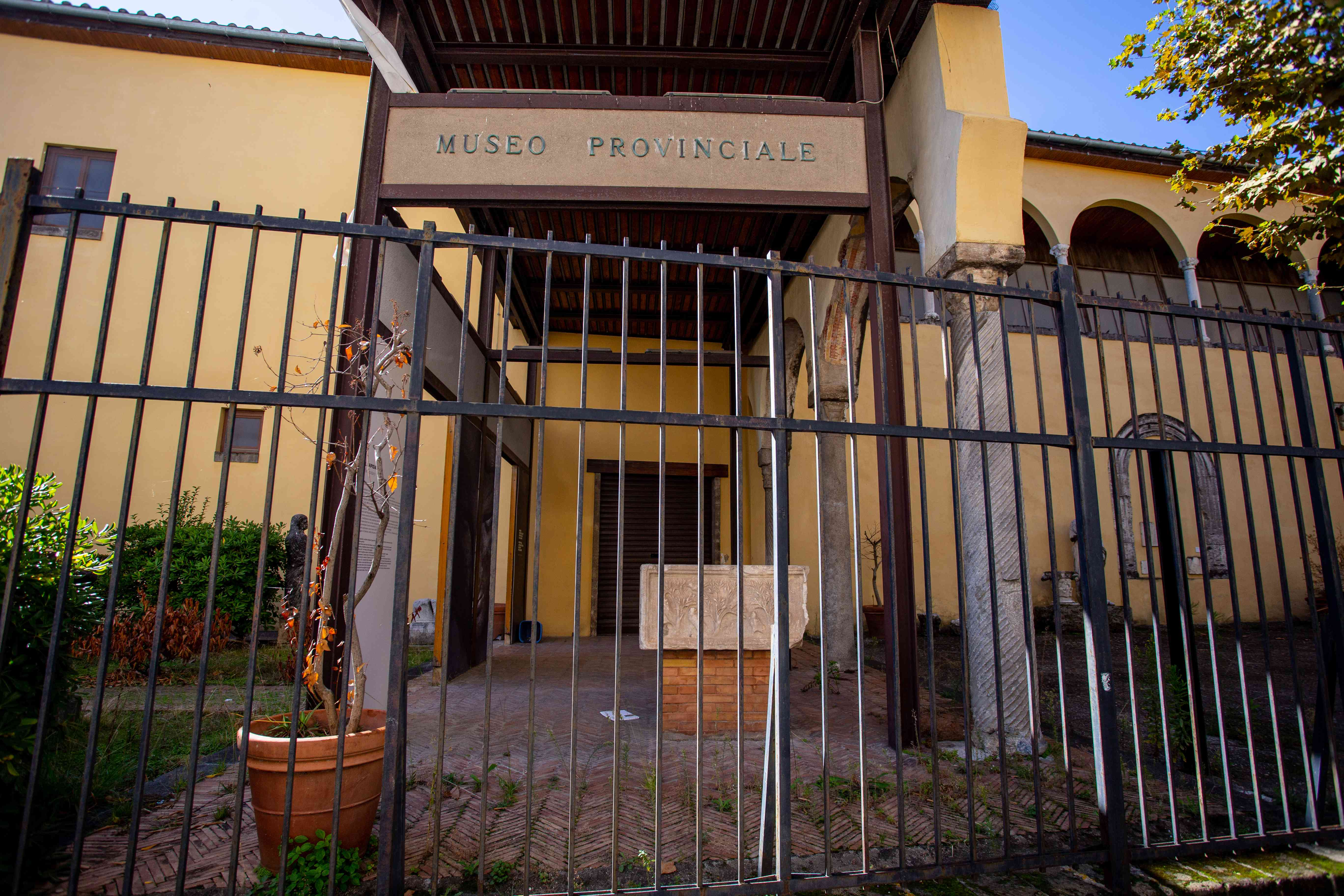 Provincial Archaeological Museum of Salerno in Italy