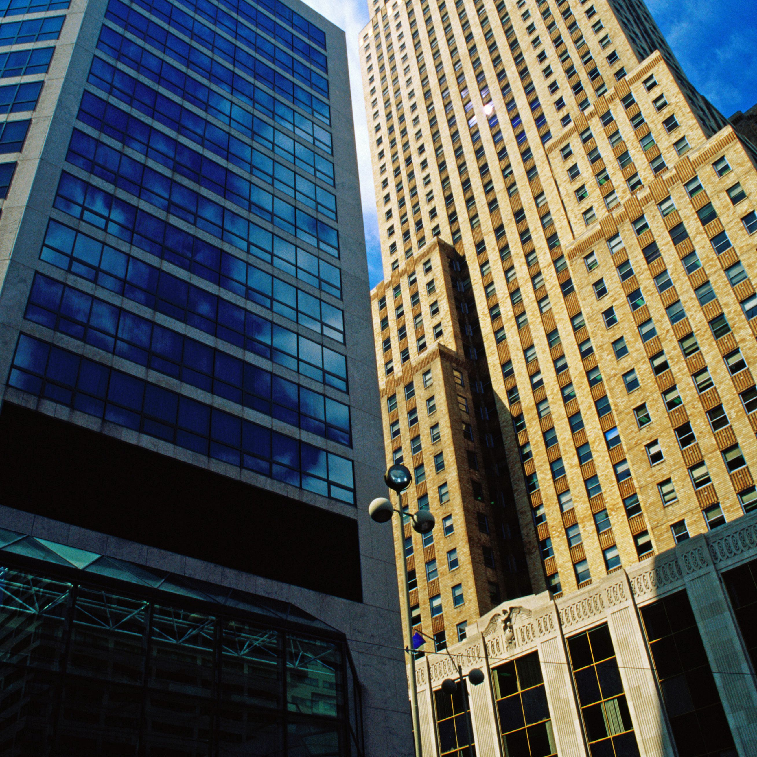 Carew Tower offers an excellent observation point that's more than 500 feet above downtown Cincinnati.