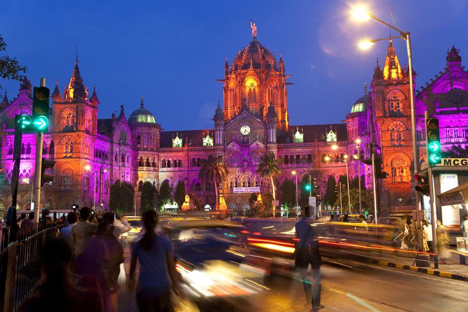 Victoria Terminus or Chhatrapati Shivaji Terminus (CST) Mumbai India