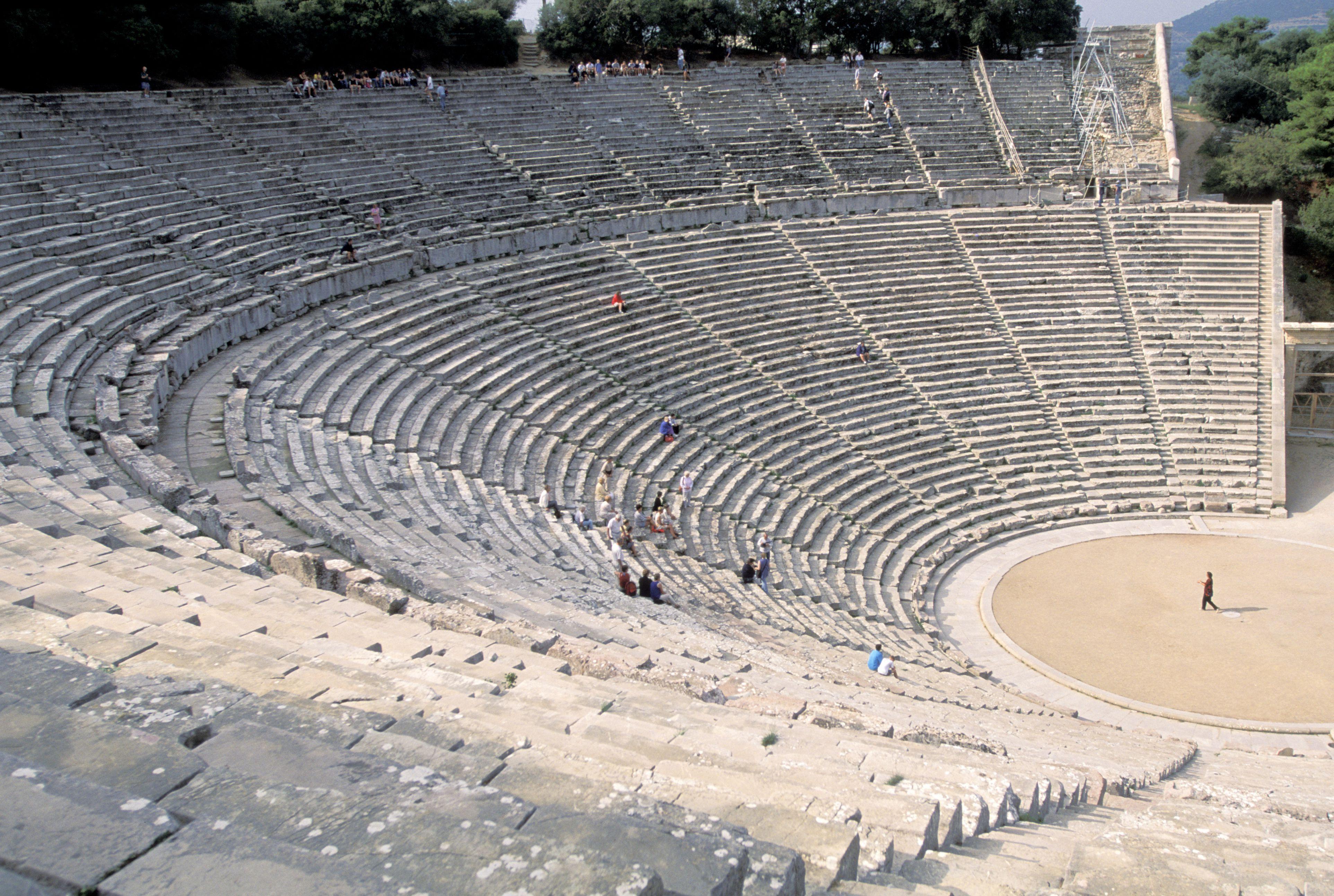 Grecia, Epidauro, Teatro