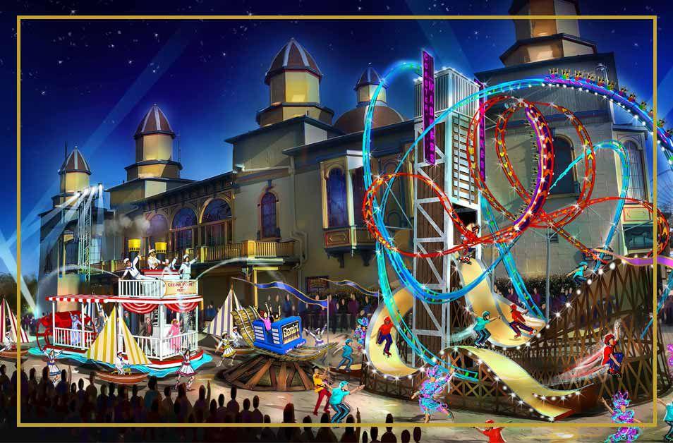 Celebrate 150 Spectacular Cedar Point parade