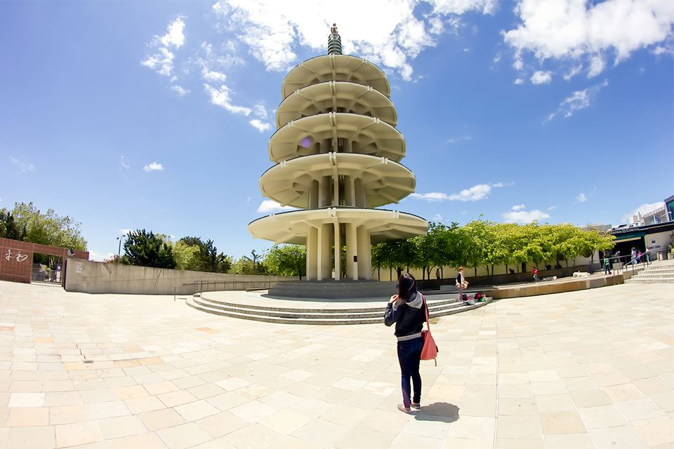 Peace Pavilion in San Francisco's Japantown