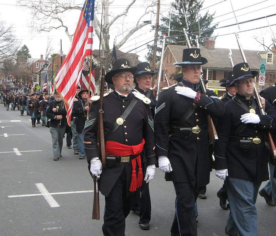Gettysburg parade