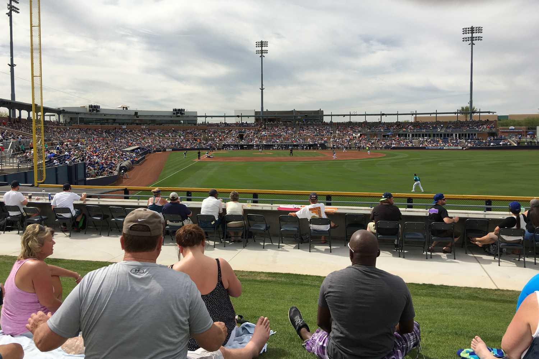 Peoria Stadium in Arizona