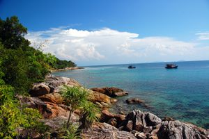 Coral Bay Perhentian Kecil Malaysia