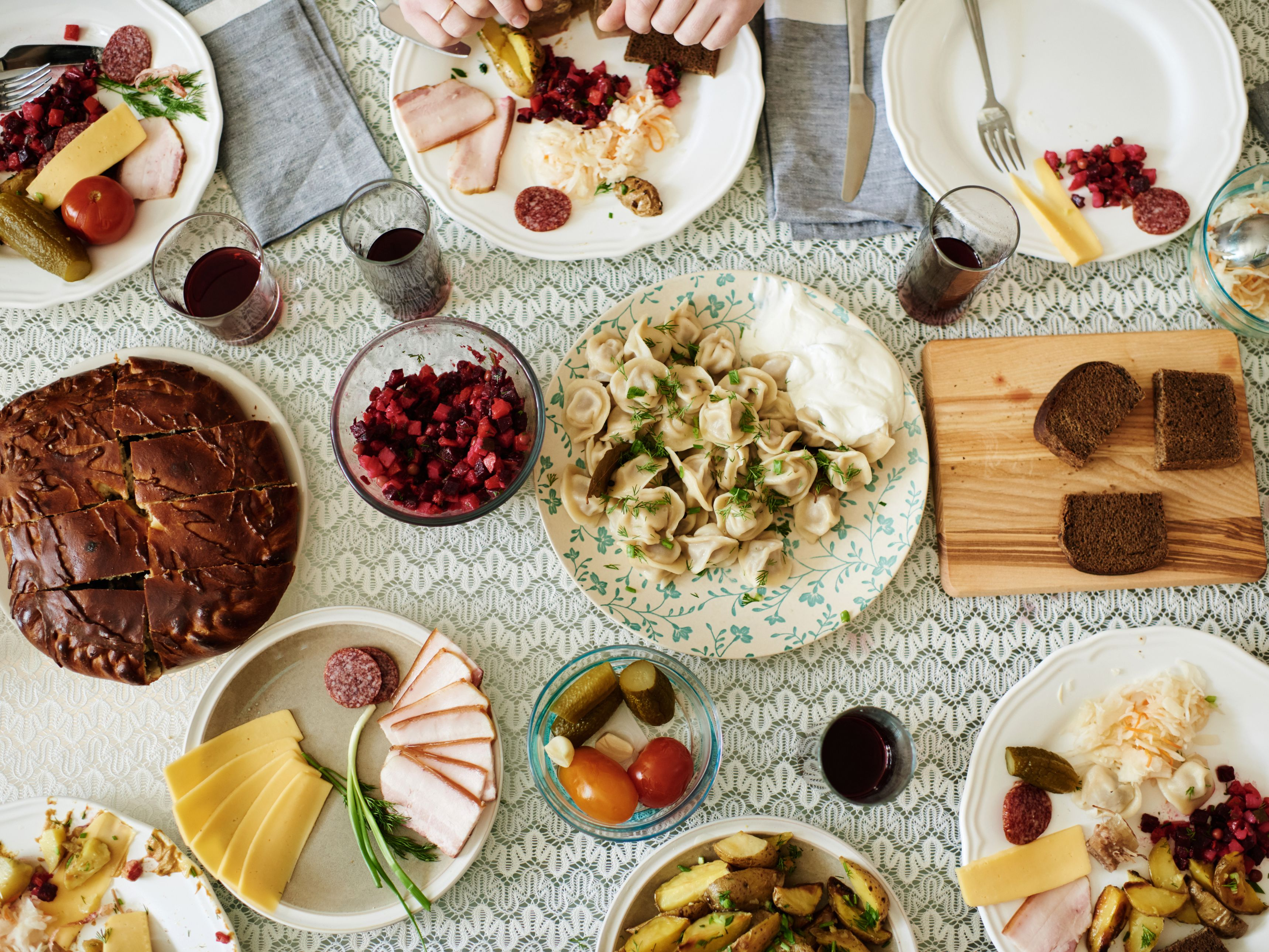 Russian Dinner Foods And Traditions