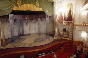 Interiors of a stage theater, Ford's Theater, Washington DC, USA
