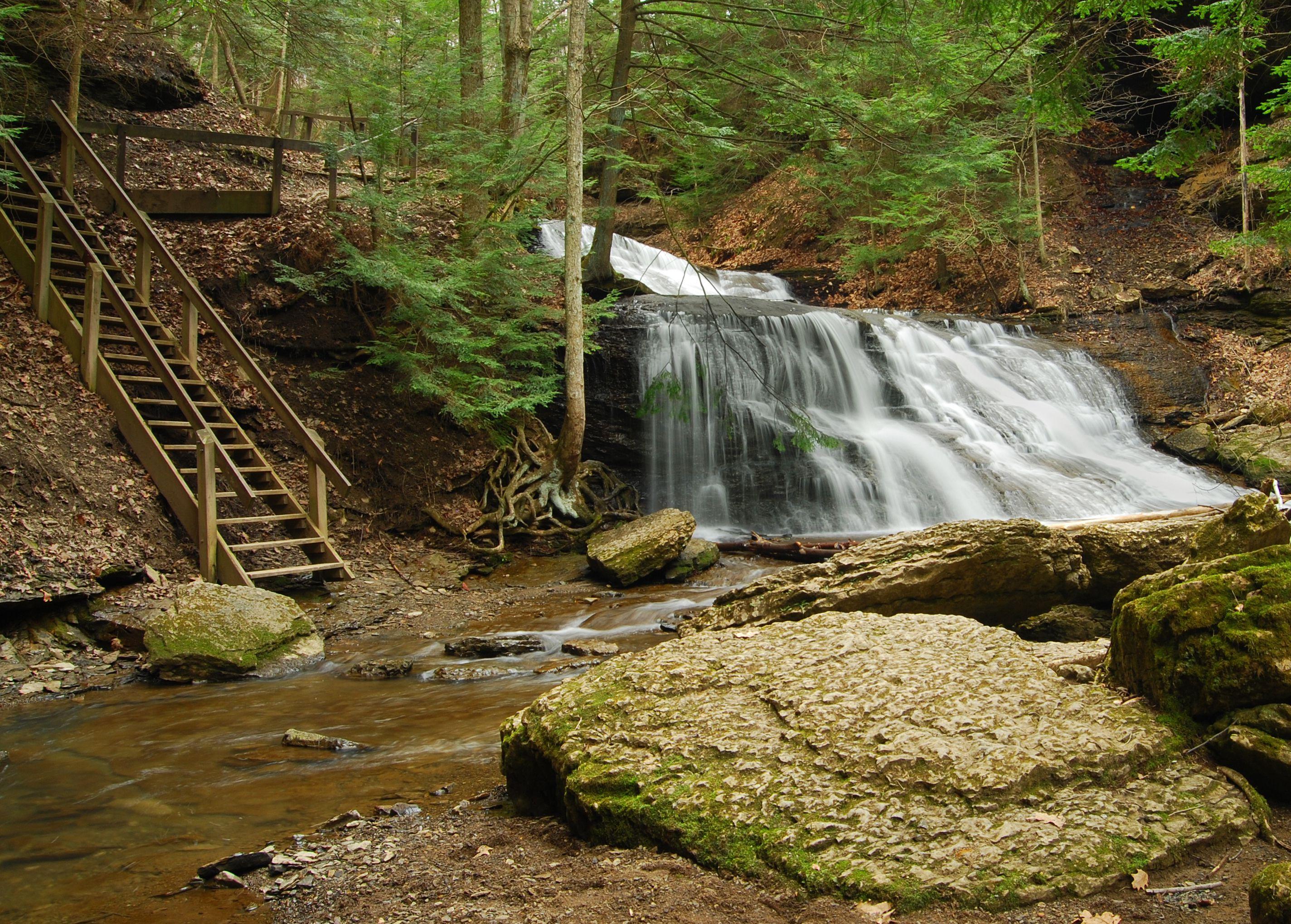 Slippery Rock Creek in Western Pennsylvania