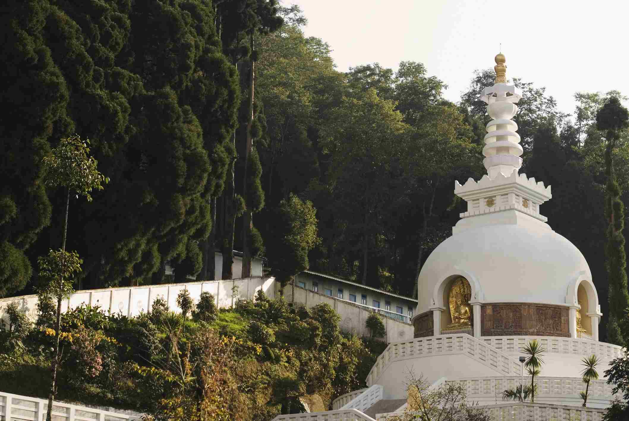 Japanese Stupa, Darjeeling