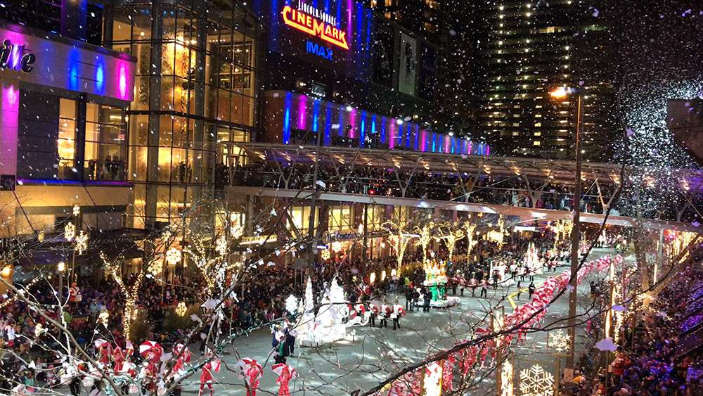 The Bellevue Collection Snowflake Lane