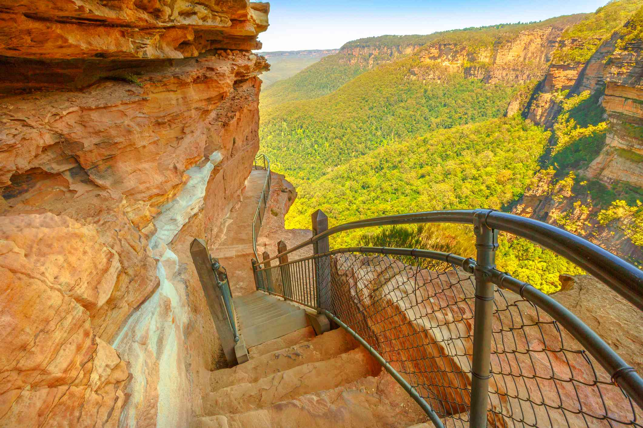 Giant Stairway trail