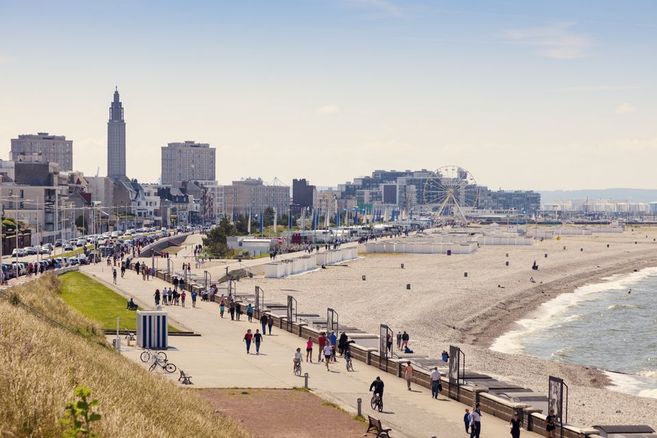 Panorama of Le Havre
