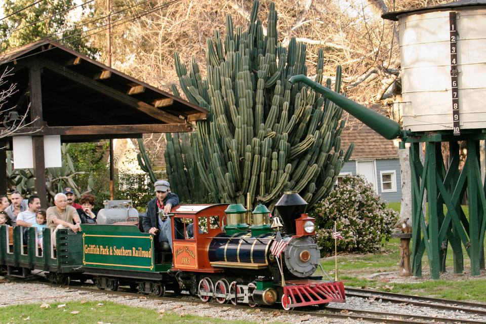 griffith park and southern railroad