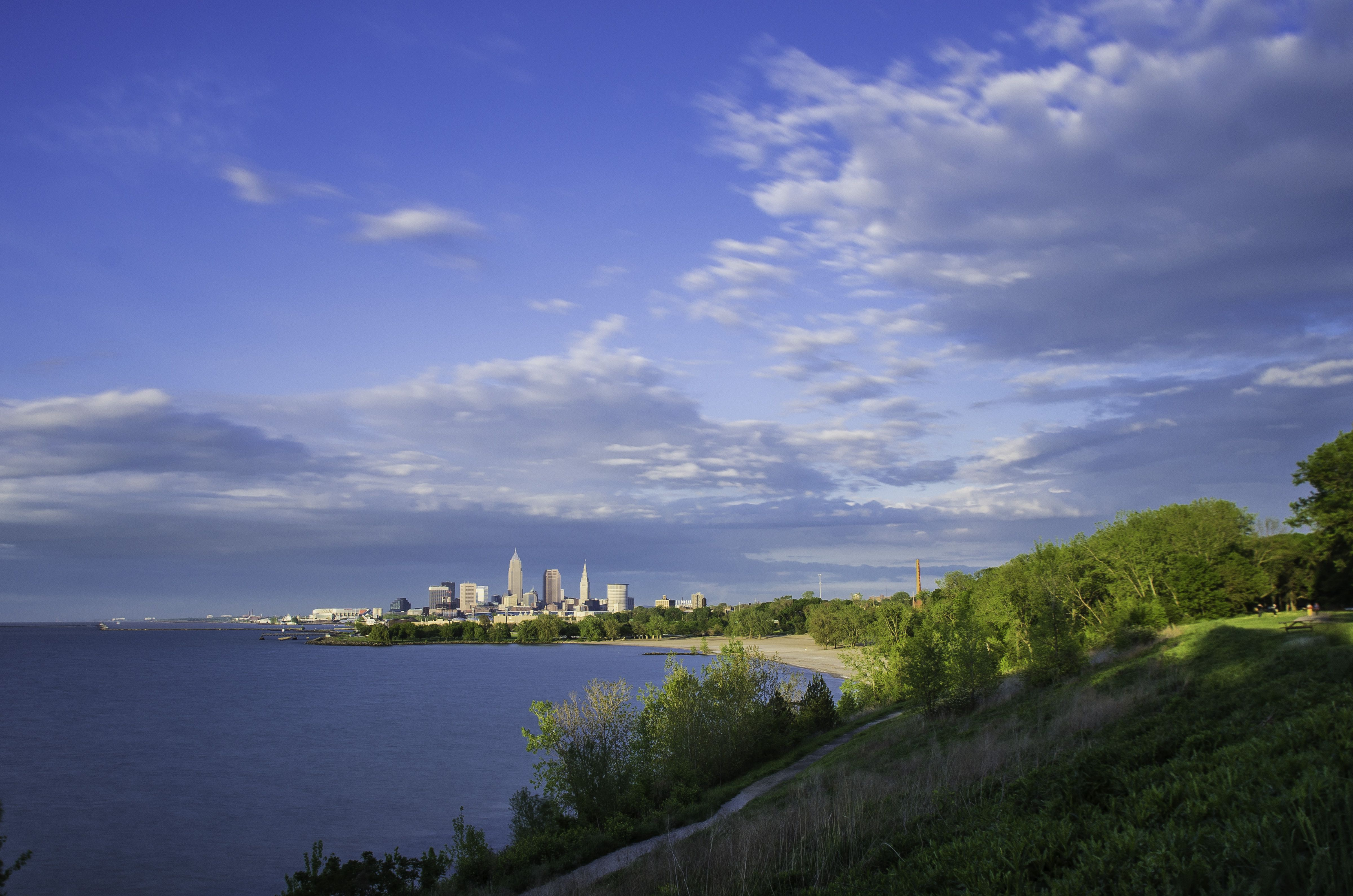 Northeast Road Trip >> Overview of Lake Erie From Cleveland