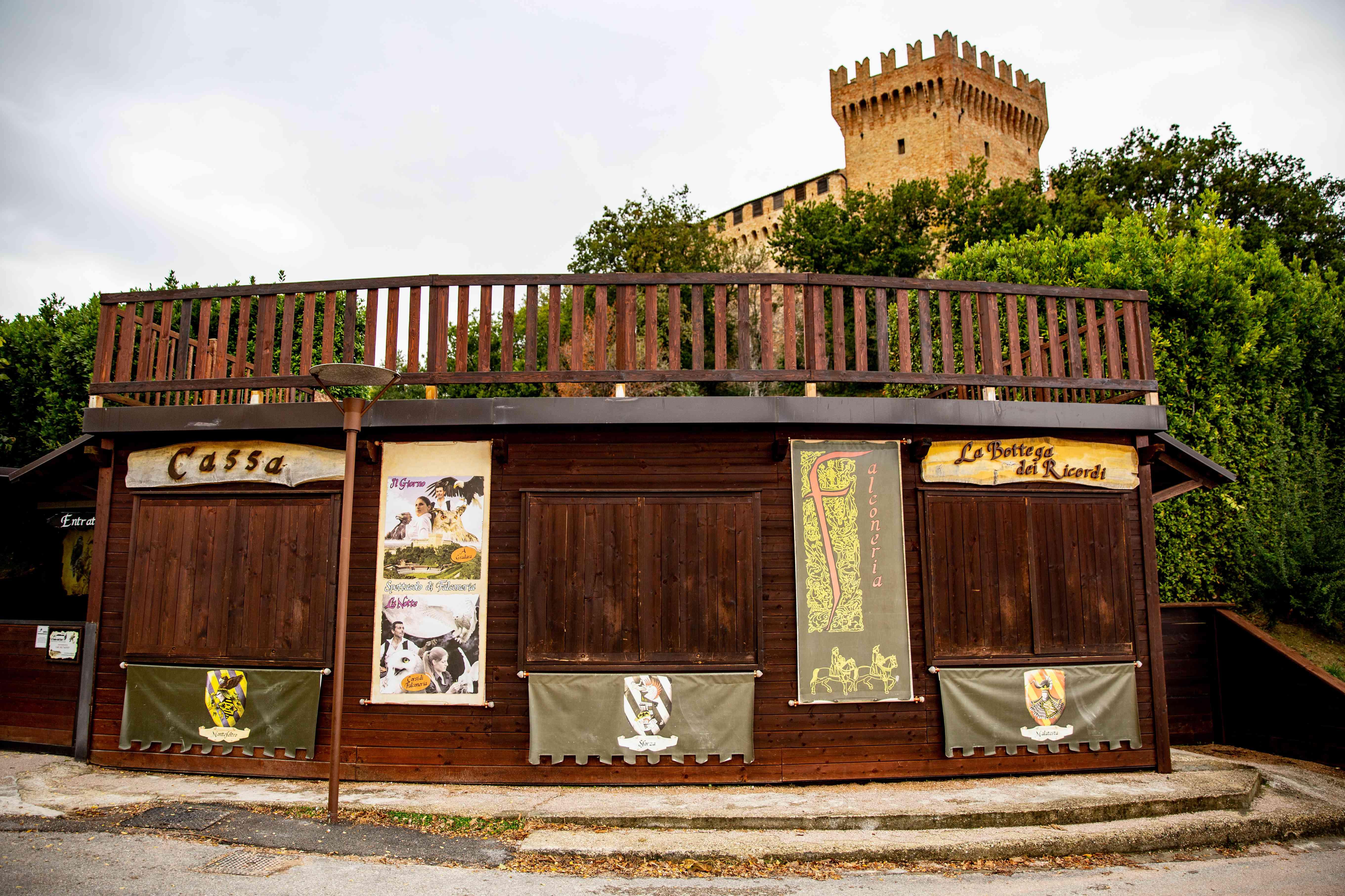 Il Teatro dell'Aria in Pesaro