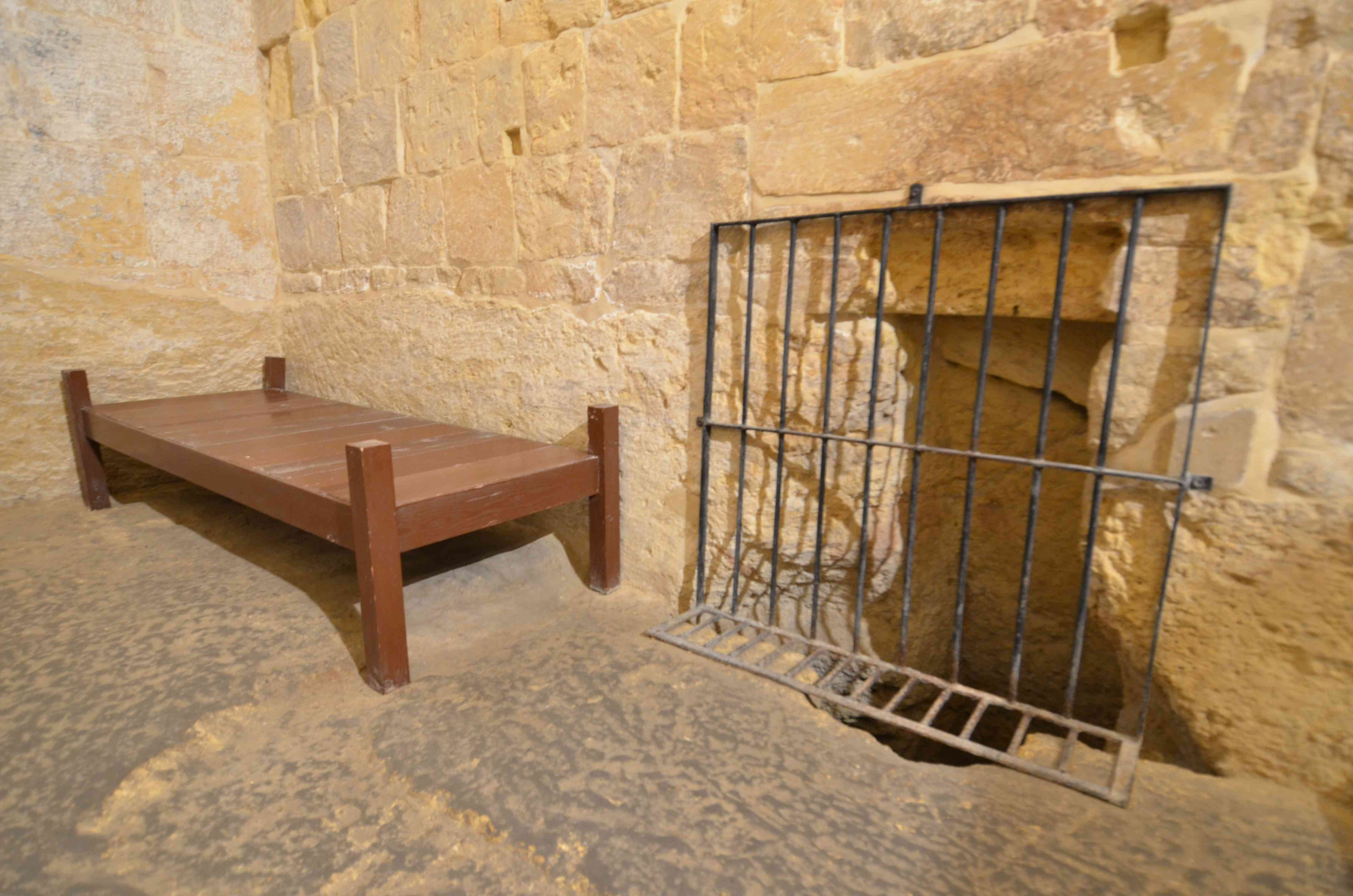 Prison cell in the Inquisitor's Palace, Malta