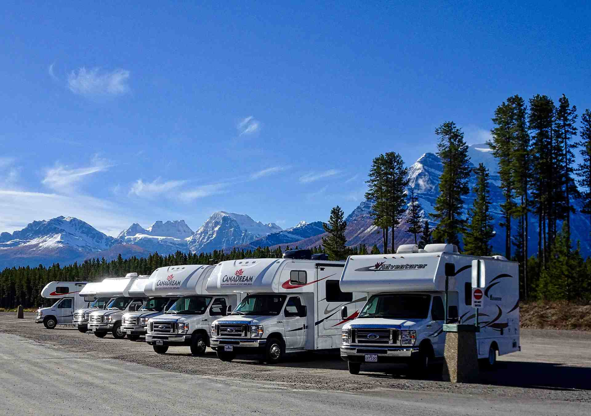 RV camping Vancouver