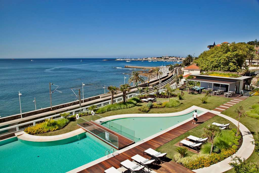 View of the pool at InterContinental Cascais-Estoril