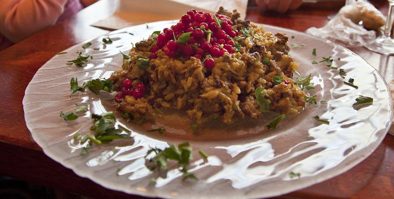Kaalilaatikko or cabbage casserole.