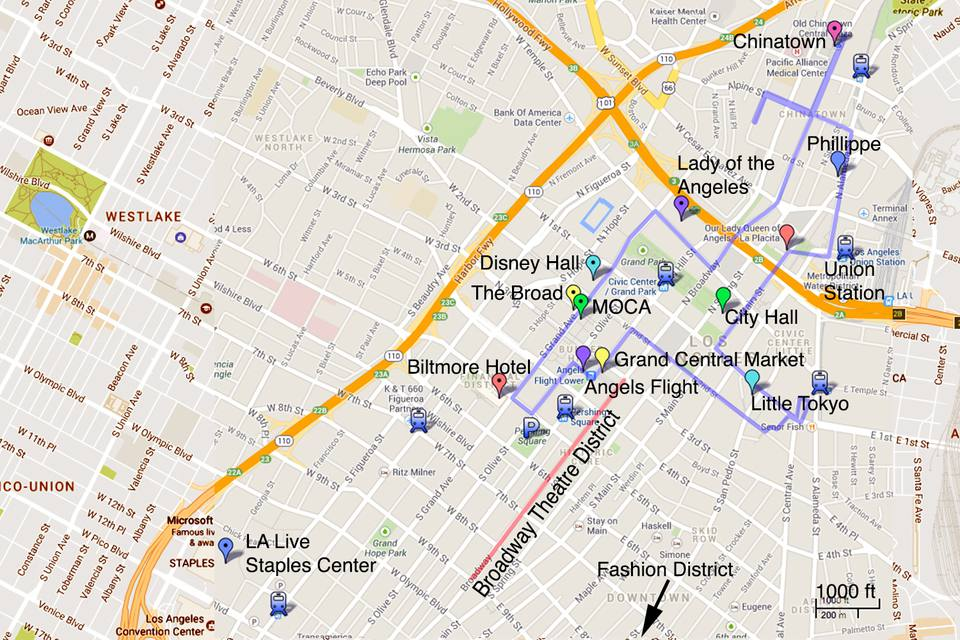 Downtown Los Angeles: A Photo Tour and Guide