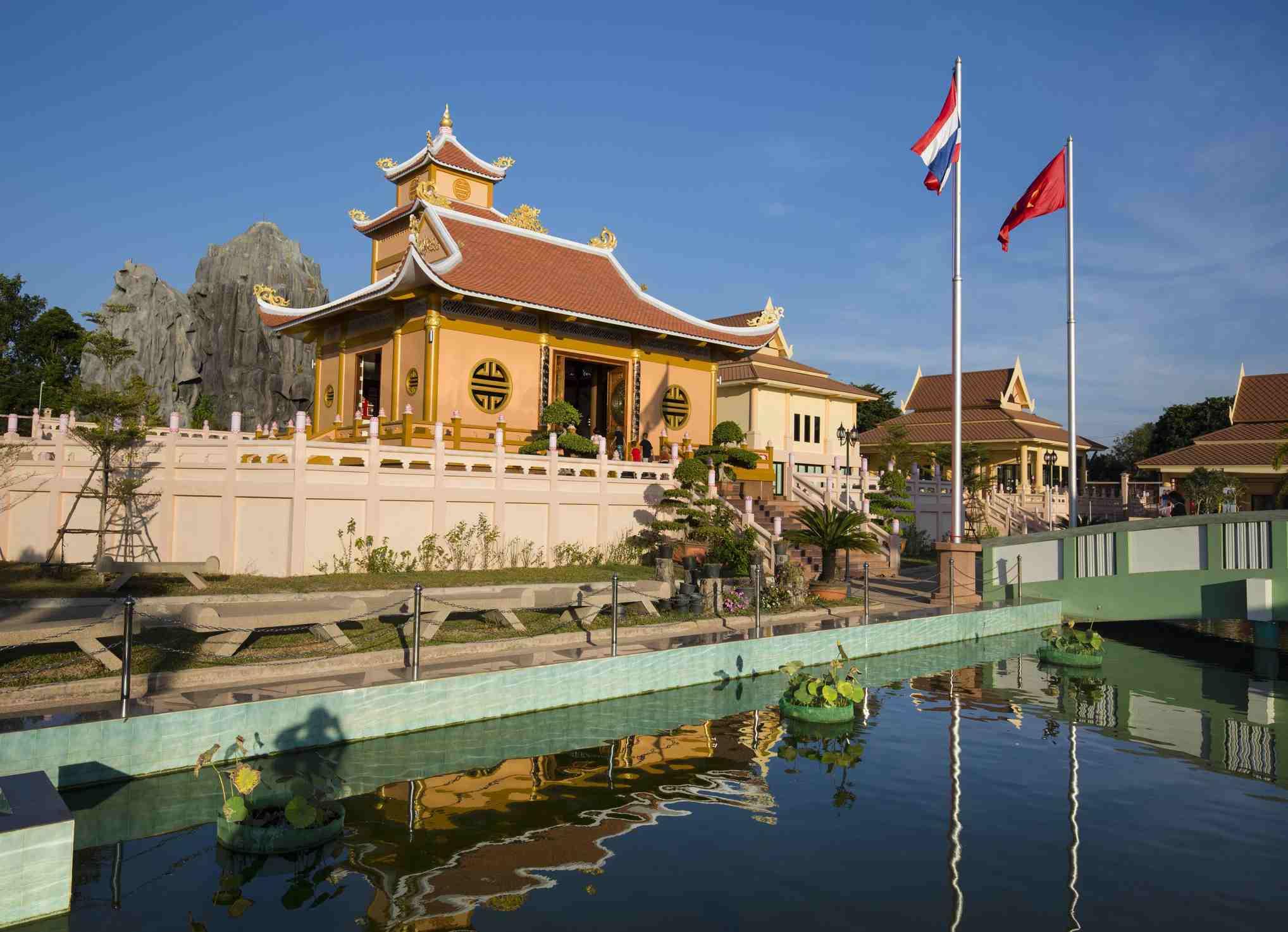 Vietnamese temple in Nakhon Phanom