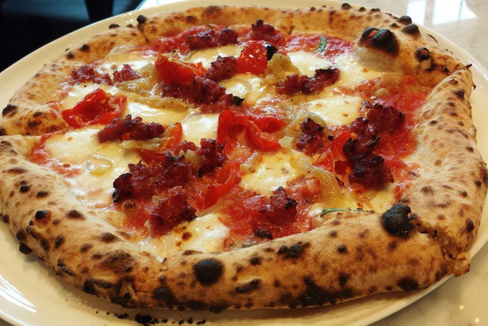 Pizza de 800 grados
