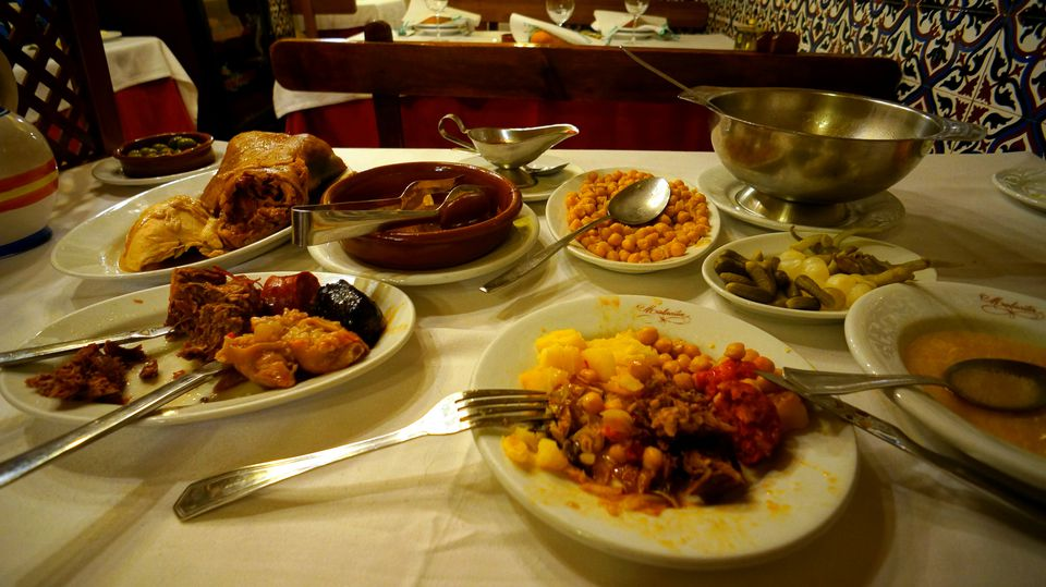 traditional madrid dishes