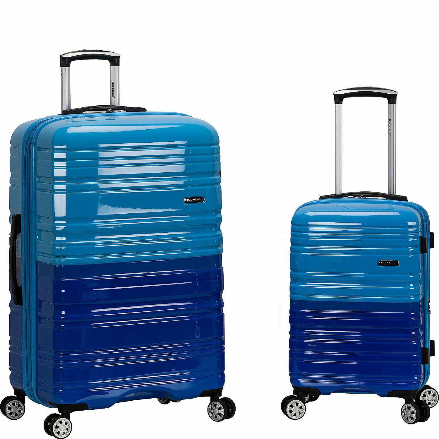 Rockland 20 Inch 28 Inch 2 Piece Expandable Abs Spinner Set