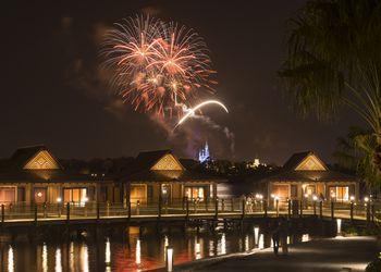 The Bora Bora Bungalows at Disney's Polynesian Villas & Bungalows