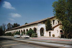 San Fernando Mission in Los Angeles, CA