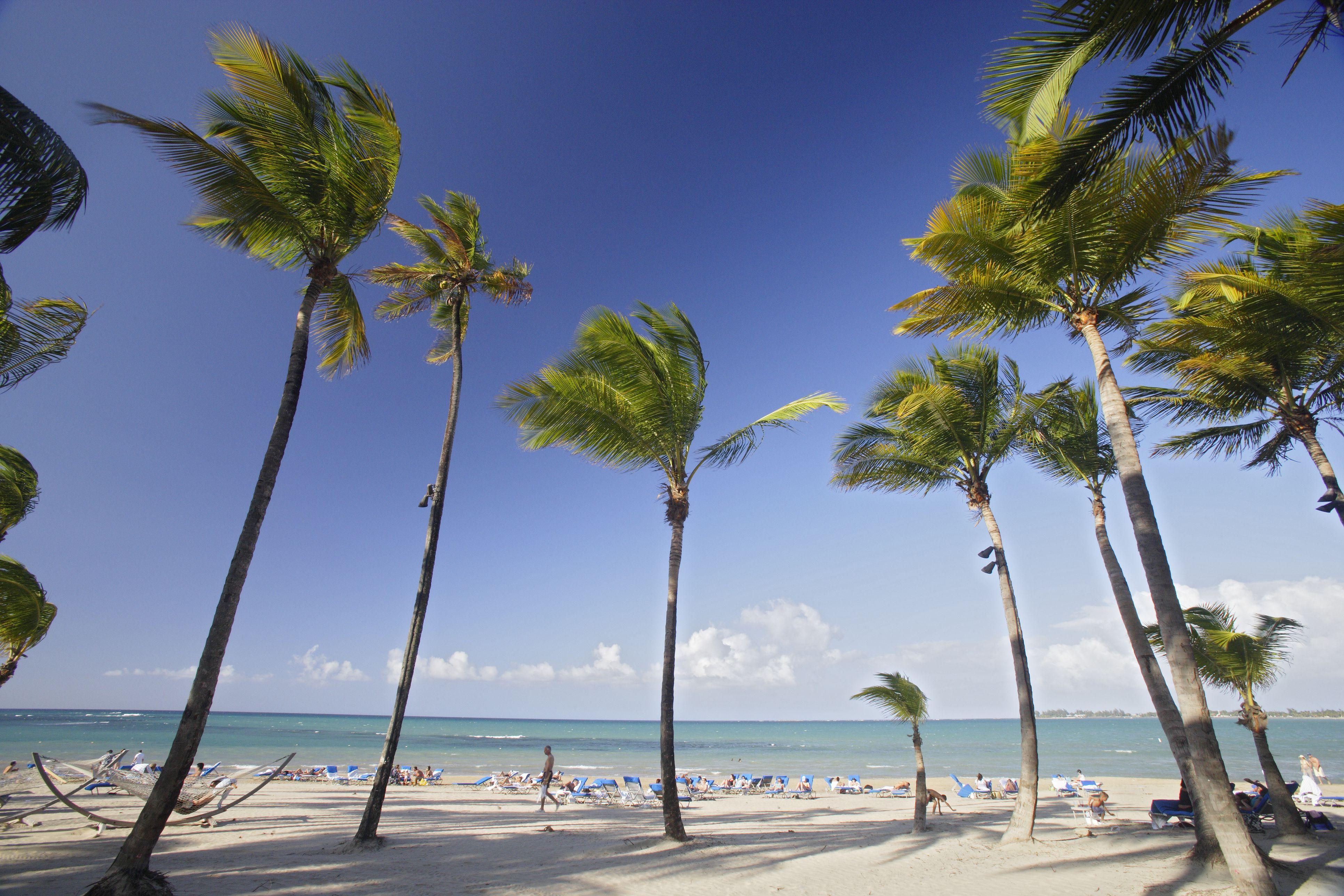 Beach at Ritz Carlton, Isla Verde.
