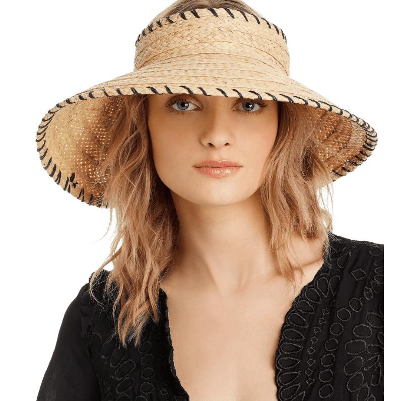 Mini visera enrollable para mujer Hat Attack