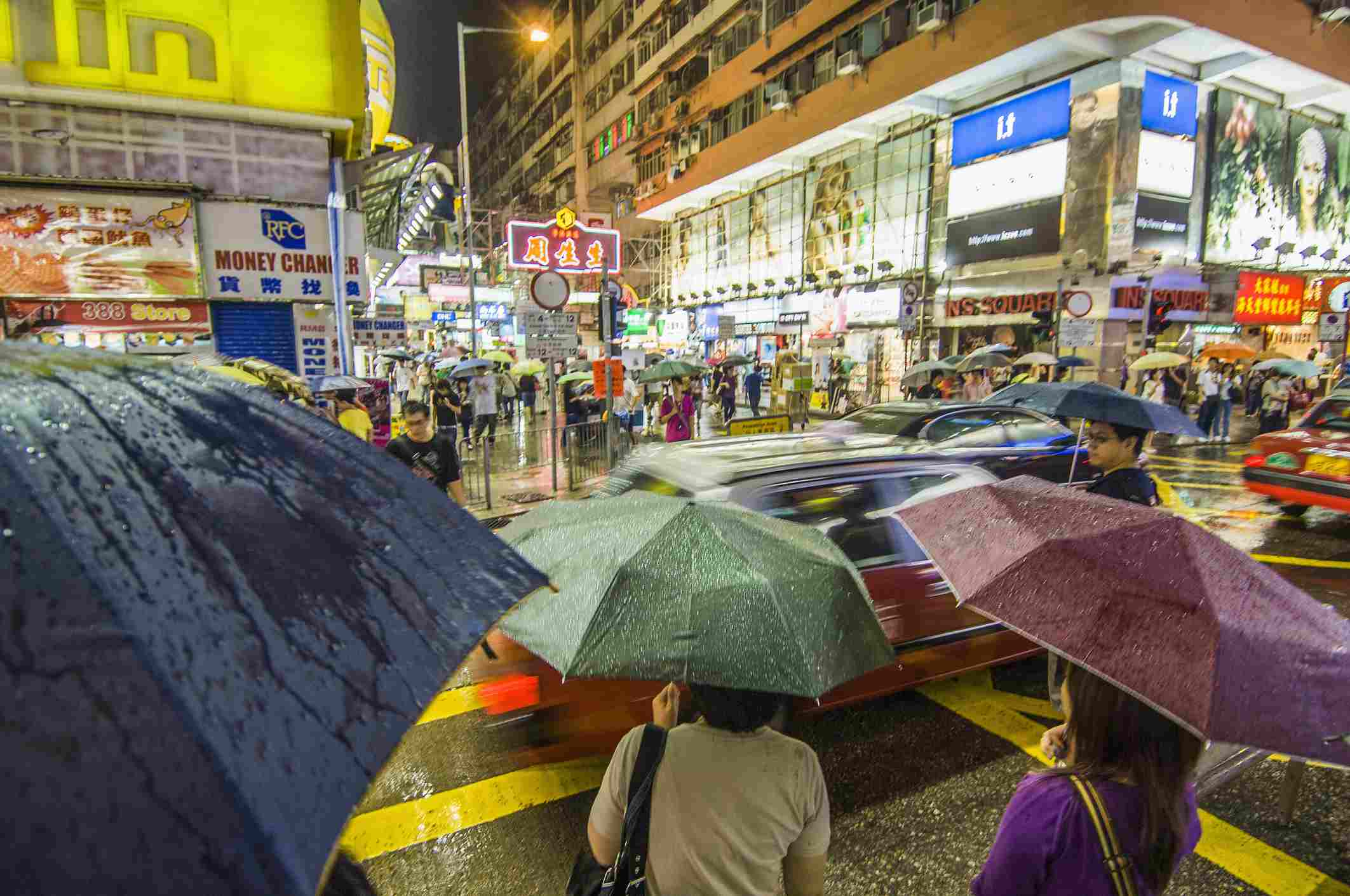 Kowloon, Shanghai street
