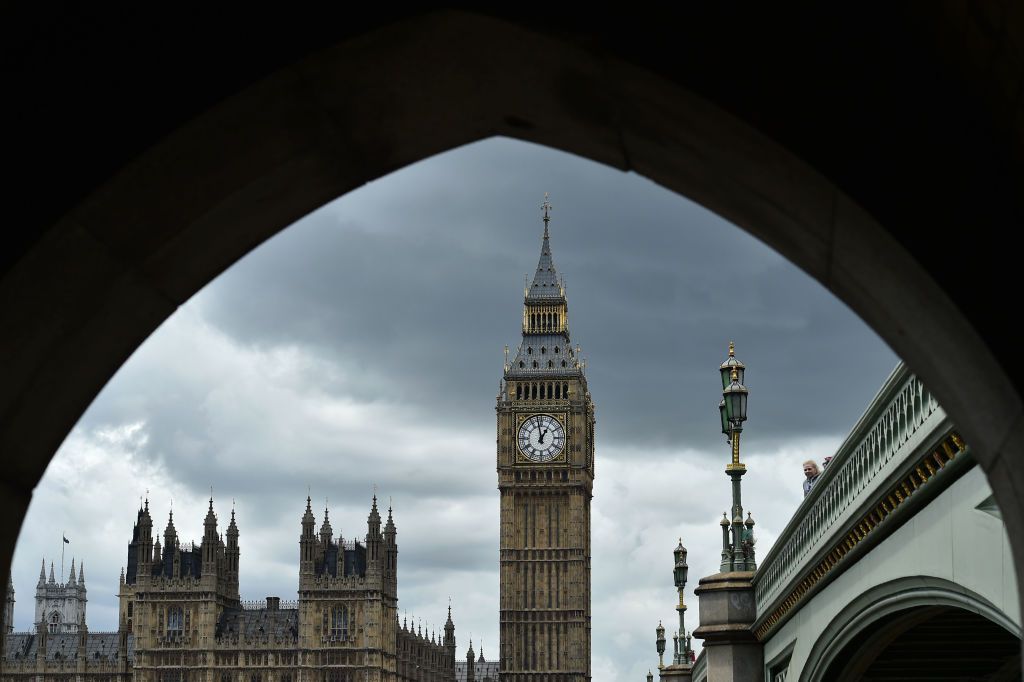 Big Ben and and Houses of Parliament in London