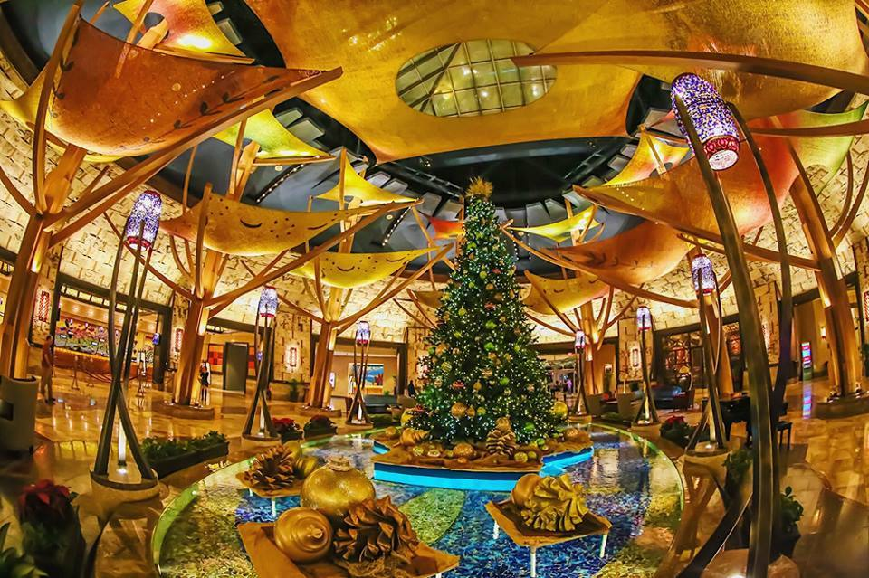 Christmas Tree at Mohegan Sun Casino