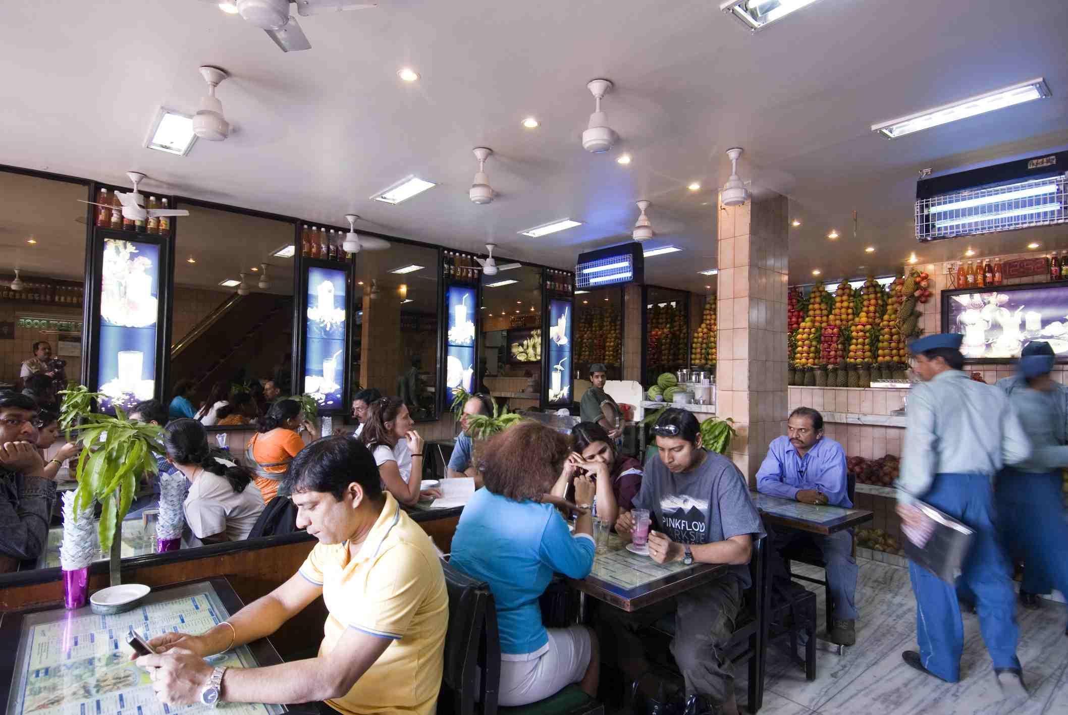 Badshah restaurant.