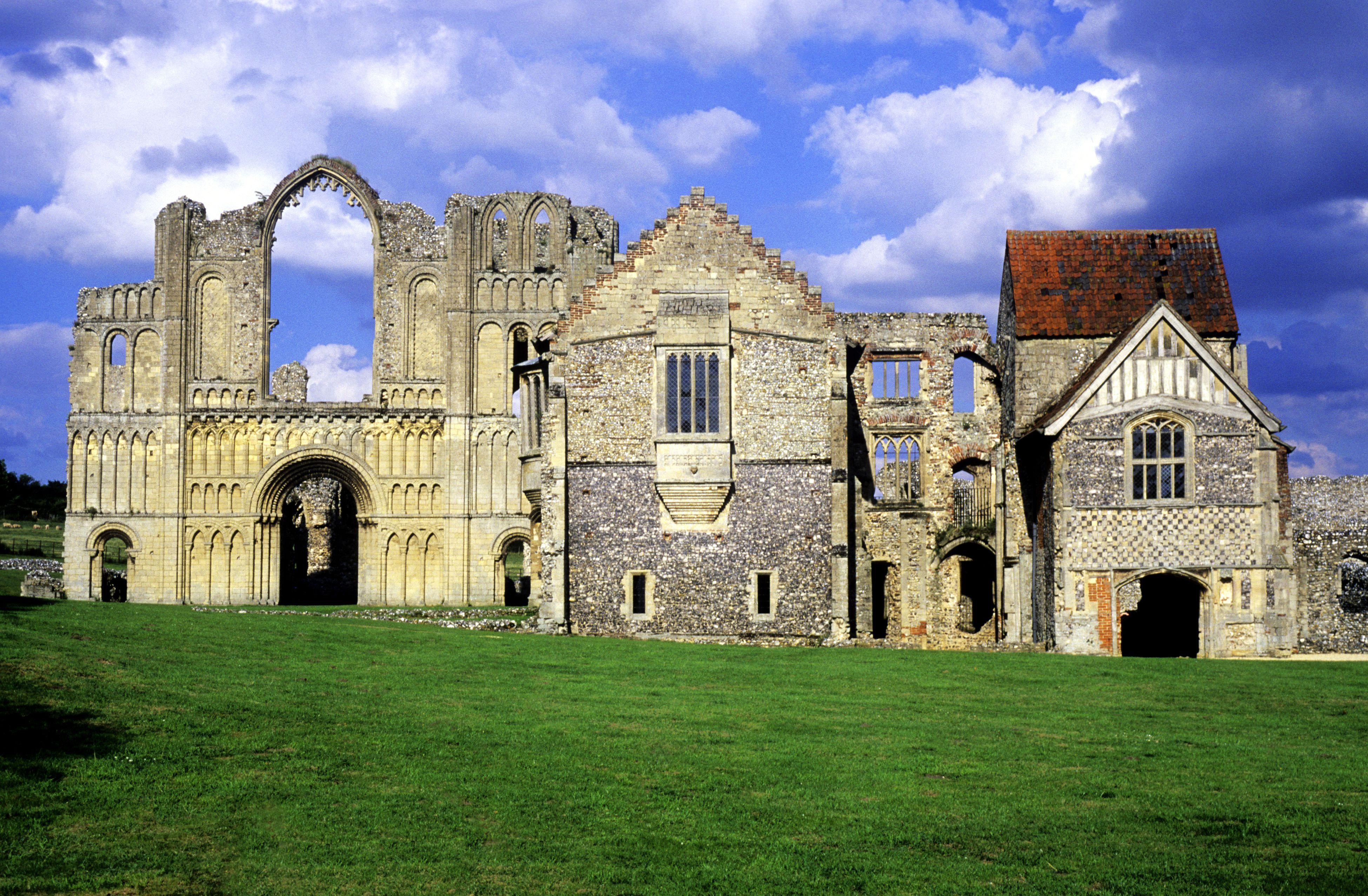 Priorato de Castle Acre, Norfolk, monasterio medieval