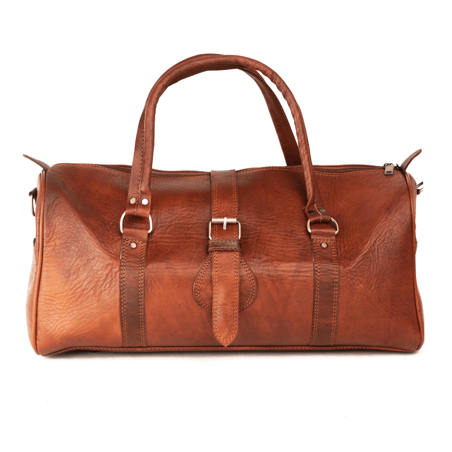 Made Leather Co. Aviator Weekender Bag