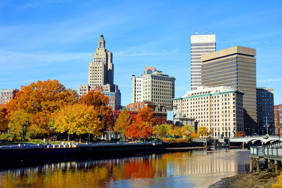 Autumn in Providence, Rhode Island