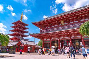 Sensoji temple at Asakusa,Tokyo