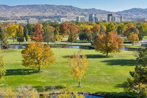 Boise Autumn Skyline