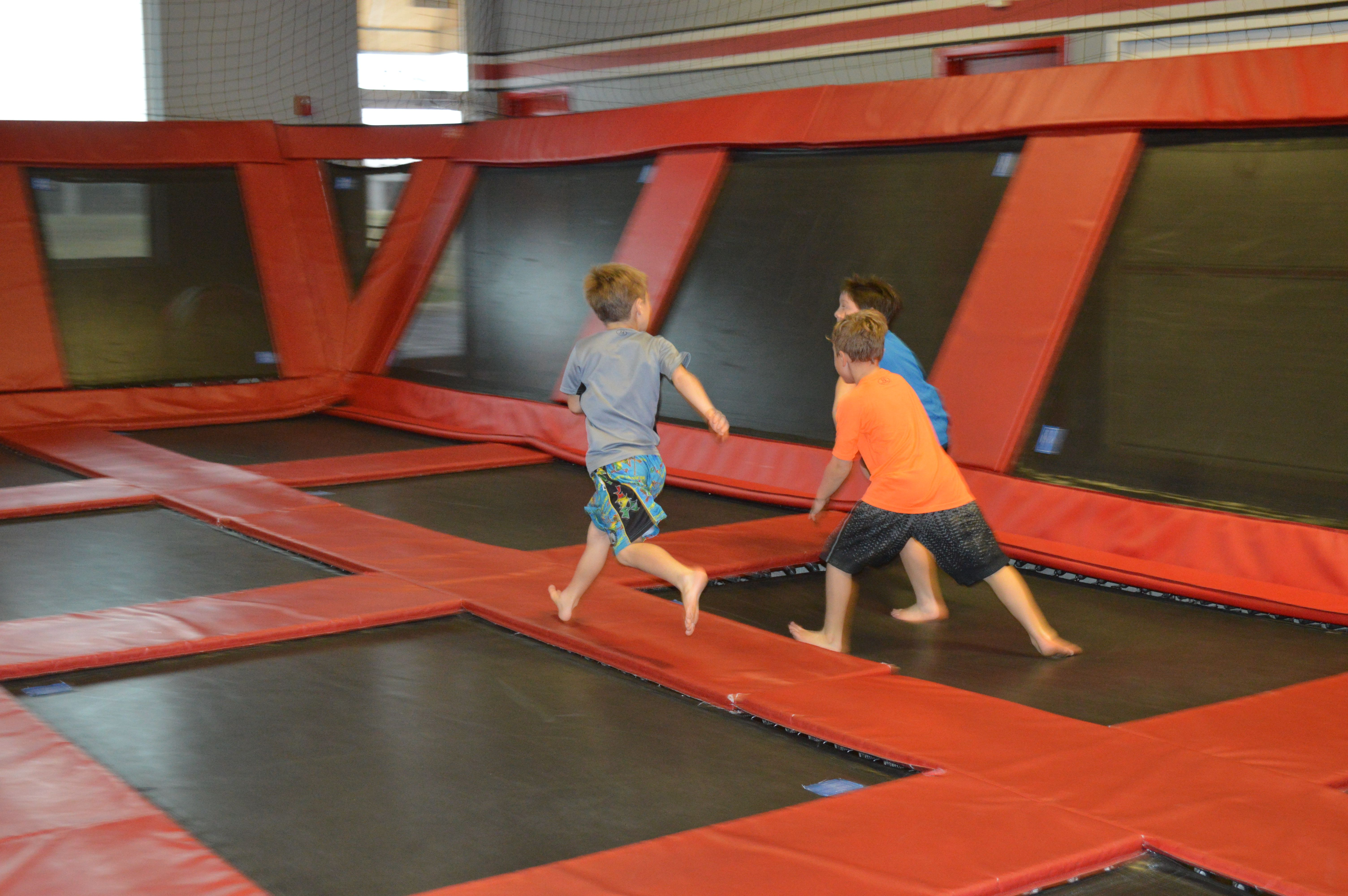 The Bounce Club Trampoline Park in Columbus